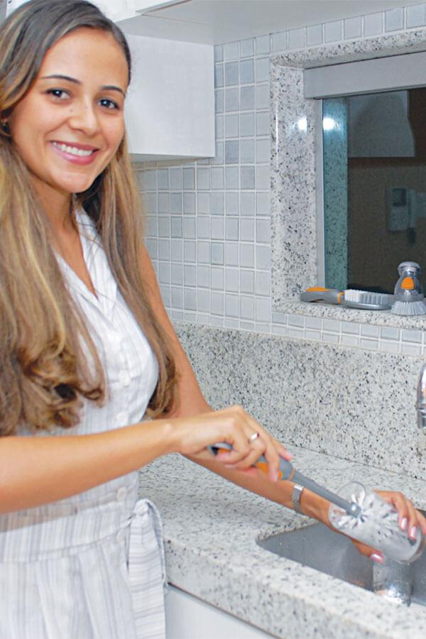 Escova Lava Copos Cód. 419